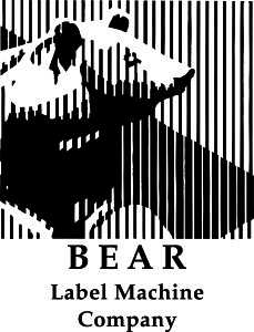 bear label machine company